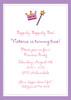 Princess Icon Invitation