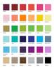 Collegiate Bordered Flat Note colors