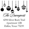 Ornaments Self Inking Stamp