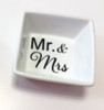 Square Ceramic Ring Dish