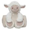Huggy Lamb and Blanket Set