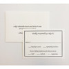 Jody and Robert: Wedding Invitations
