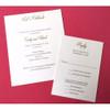 Emily and Pat: Wedding Invitation