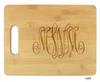 Delavan Monogram Cutting Board- 10 Fonts