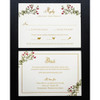 Emma and Brandon: Wedding Invitation