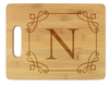 Stately Initial Cutting Board