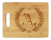 Wheat Leaf Initial Cutting Board