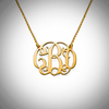 Monogram Necklace- Double Snag
