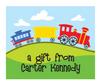 Train Gift Sticker