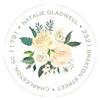 Bridal Blooms Address Label