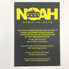 Noah: Bar Mitzvah Invitation