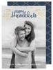 Golden Vines Hanukkah Holiday Card