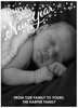 New Year Stars Holiday Card front