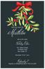 Mistletoe Holiday Event Invitation