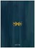 Gold Wreath Flat Greeting Card back