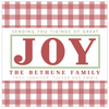 Tidings of Great Joy Square Holiday Sticker