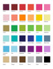 Benjamin and Diana Bordered Flat Note  colors