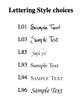 Senior Class Ornament fonts