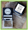 Self-Inking Address Stamp Gift Certificate Box Set