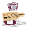 Wine Cutting Board & Coaster Set