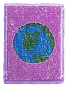 Girls Can Change the World Magic Sequin Journal