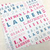 Lauren: Bat Mitzvah Invitation