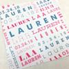 Lauren: Bat Mitzvah Invitation