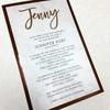 Jenny: Bat Mitzvah Invitation