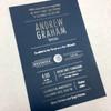 Andrew: Bar Mitzvah Invitation