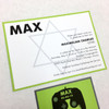 Max: Bar Mitzvah Invitation