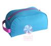 Aqua and Pink Dopp Kit