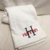Towel Wrap Flip Flop Set