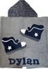Sneakers Hooded Towel