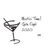 Martini Cork Coaster Set - 4 Fonts