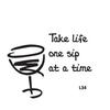 Wine Cork Coaster Set - 4 Fonts