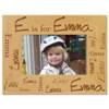 Confetti Name Picture Frame