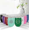 Cursive Monogram 12 Ounce Tumbler - multiple colors