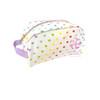 Tiny Hearts Seersucker Dopp Kit