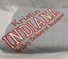 Gift Set: Sweatshirt Blanket and Catchall- Add your school
