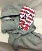 Sweatshirt Robe and Flip Flop Set