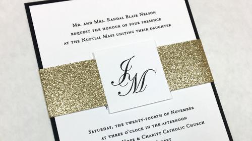 Jennifer and Maciej's Wedding Invitation
