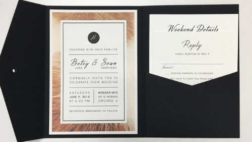 Betsy & Sean's Wedding Invitation