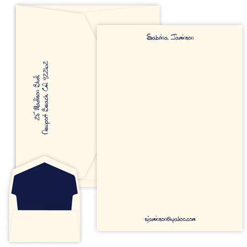 Associate Letter Sheets