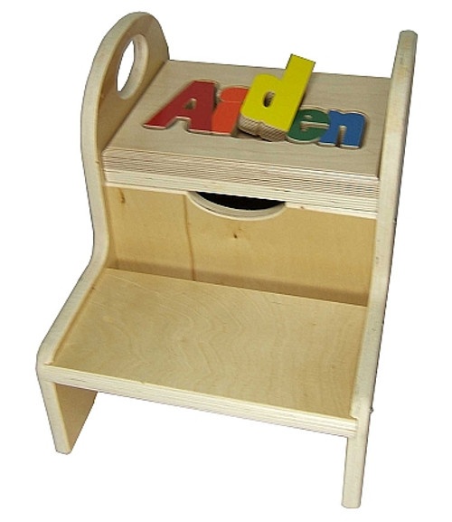 Two Step Name Stool - multiple options