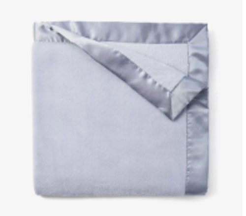 Light Blue Silky Blanket