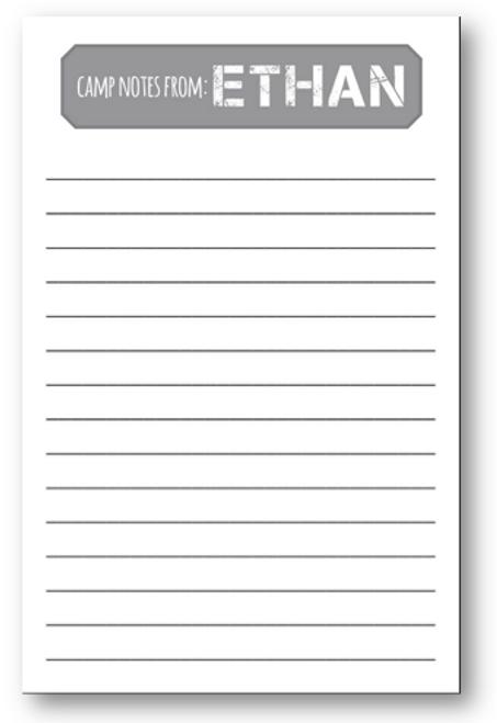 Slate Camp Letter Sheets