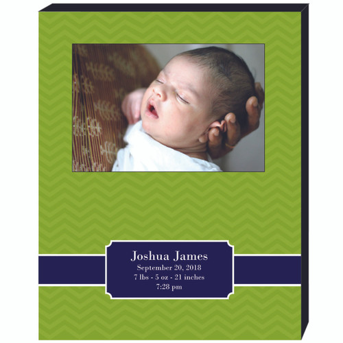 Birth Announcement 4x6 Picture Frame