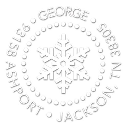 Simple Snowflake Embosser
