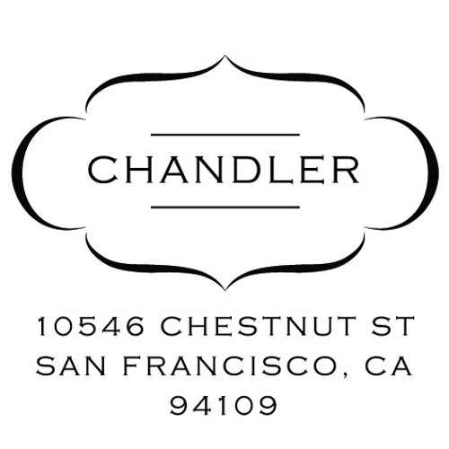 Chandler Self Inking Stamp