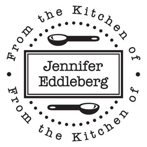 From The Kitchen Of Self Inking Stamp